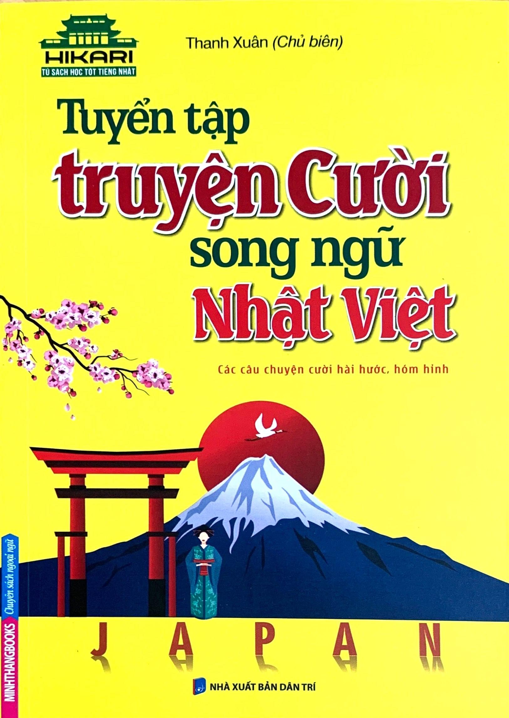 Lifestyle designSách Học Tiếng Nhật Tuyển Tập Truyện Cười Song Ngữ Nhật Việt (Có Tiếng Việt)