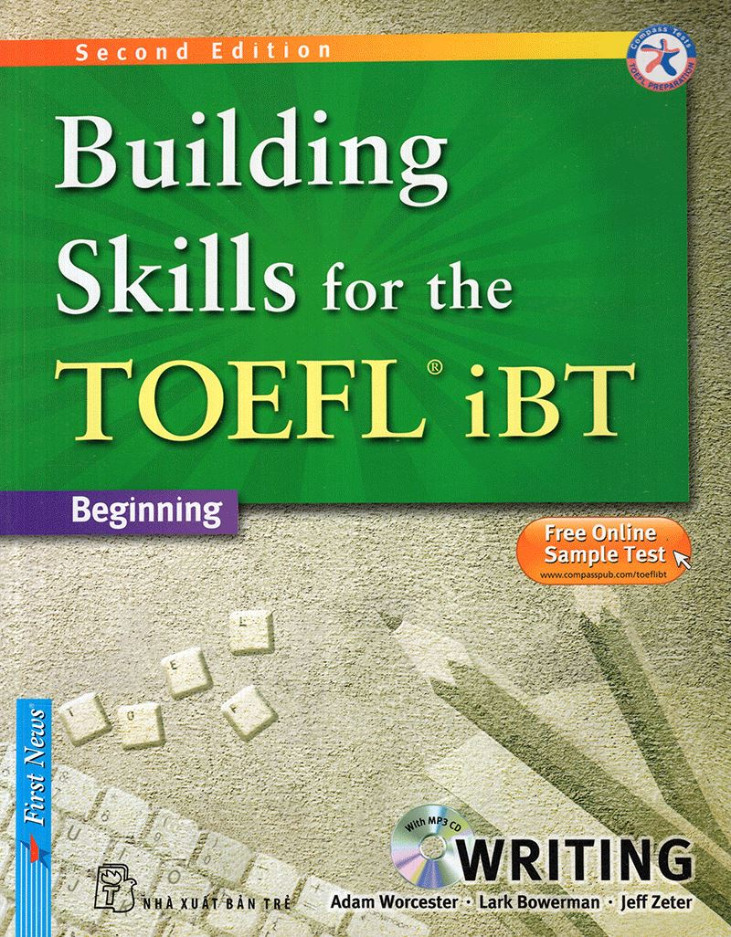 Lifestyle designQuà Tặng Miễn Phí 1 – Sách Building Skills For The Toefl IBT Writing