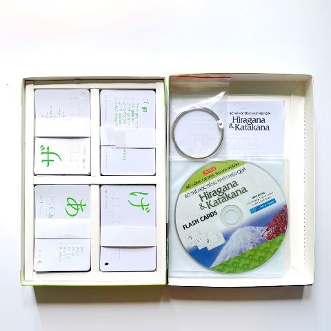 Flashcards Thẻ Học Tiếng Nhật Hộp Flashcards Hiragana & Katakana