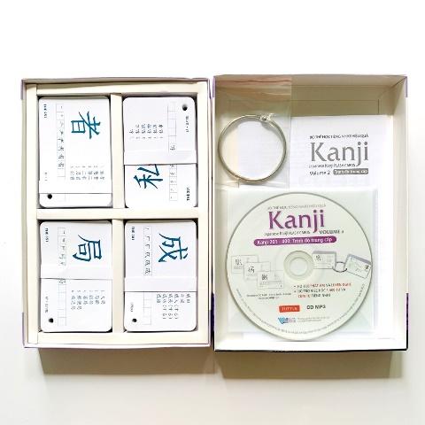Flashcards Thẻ Học Tiếng Nhật Hộp Flashcards Kanji Volume 2