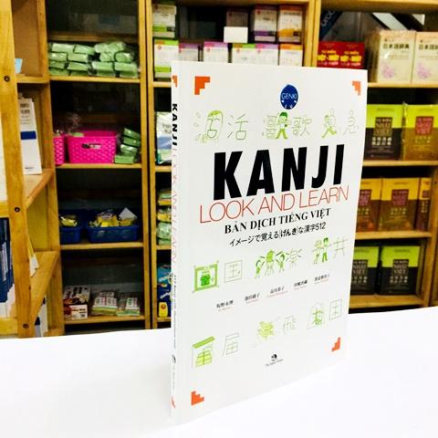 Sách Luyện Thi N4 và N5 Kanji Look and Learn Bản Tiếng Việt