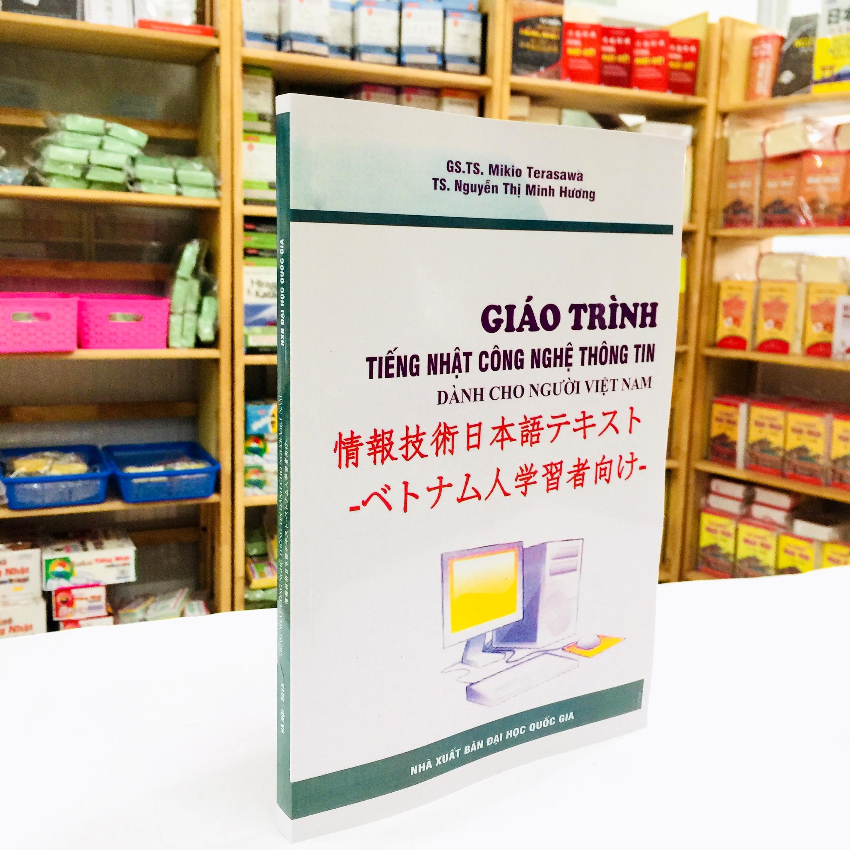 Sách Học Tiếng Nhật Giáo Trình Tiếng Nhật Công Nghệ Thông Tin Dành Cho Người Việt Nam