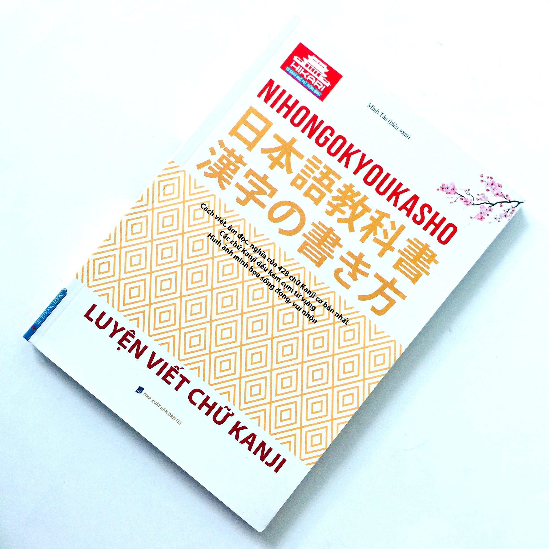 Sách Học Tiếng Nhật Nihongo Kyoukasho Luyện Viết Chữ Kanji (Có Tiếng Việt)
