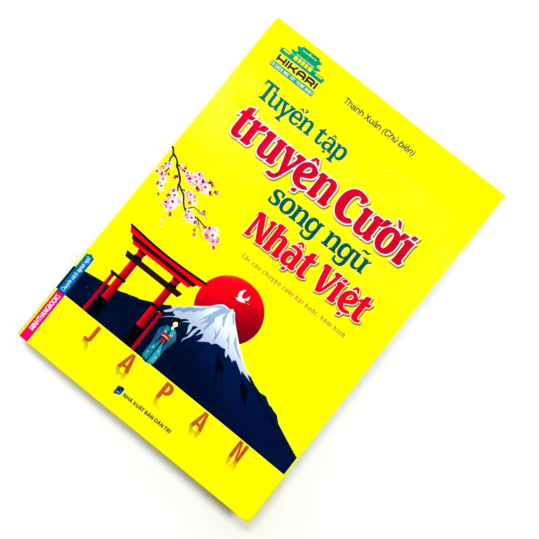Sách Học Tiếng Nhật Tuyển Tập Truyện Cười Song Ngữ Nhật Việt (Có Tiếng Việt)