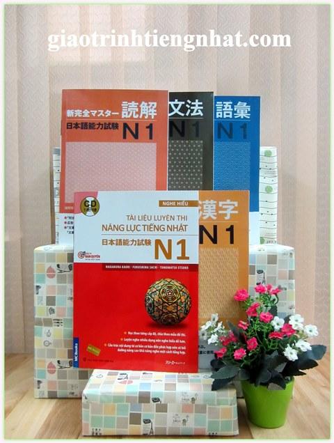 Trọn Bộ Sách Luyện Thi N1 Shinkanzen Master – 5 Cuốn (5 Kỹ Năng)