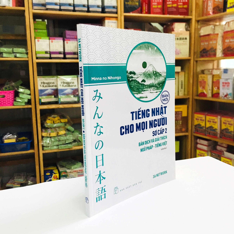 Trọn Bộ Minna No Nihongo Sơ Cấp 2 Bản Mới – Tiếng Nhật Cho Mọi Người Trình Độ N4 – 6 Cuốn