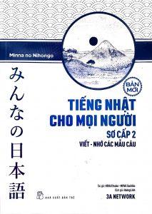 Minna Sơ Cấp 2 Mới - Tiếng Nhật Cho Mọi Người - Viết Nhớ Các Mẫu Câu (Có Tiếng Việt)