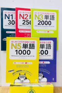 Lifestyle designBộ Sách Luyện Thi Hajimete No Nihongo Tango – 5 Cuốn (Từ Vựng N5 Đến N1 – Có Tiếng Việt)