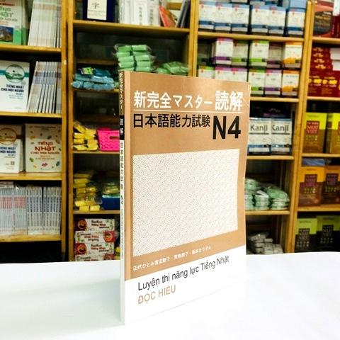 Sách Luyện Thi N4 Shinkanzen Master Đọc Hiểu (Dokkai – Có Tiếng Việt)
