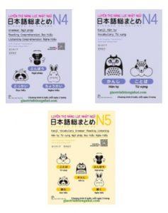 Lifestyle designBộ Sách Luyện Thi N4 và N5 Soumatome Song Ngữ Nhật Việt
