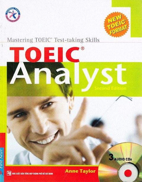 Lifestyle design[Xả Kho] Sách Toeic Analyst Second Edition (Kèm CD)